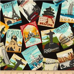 Dream Vacation Tossed Postcards Vintage