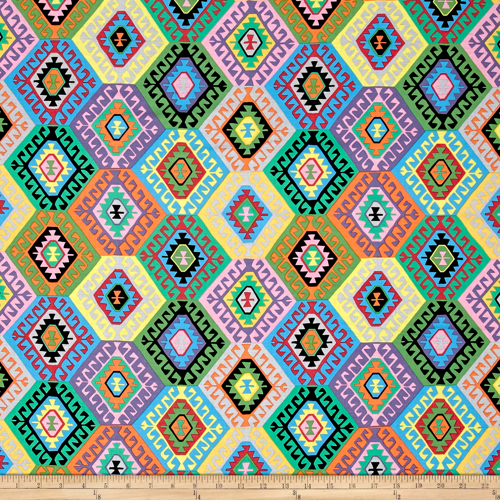 Snow Leopard Tribal Alexandria Dynasty Fabric by Westminster in USA