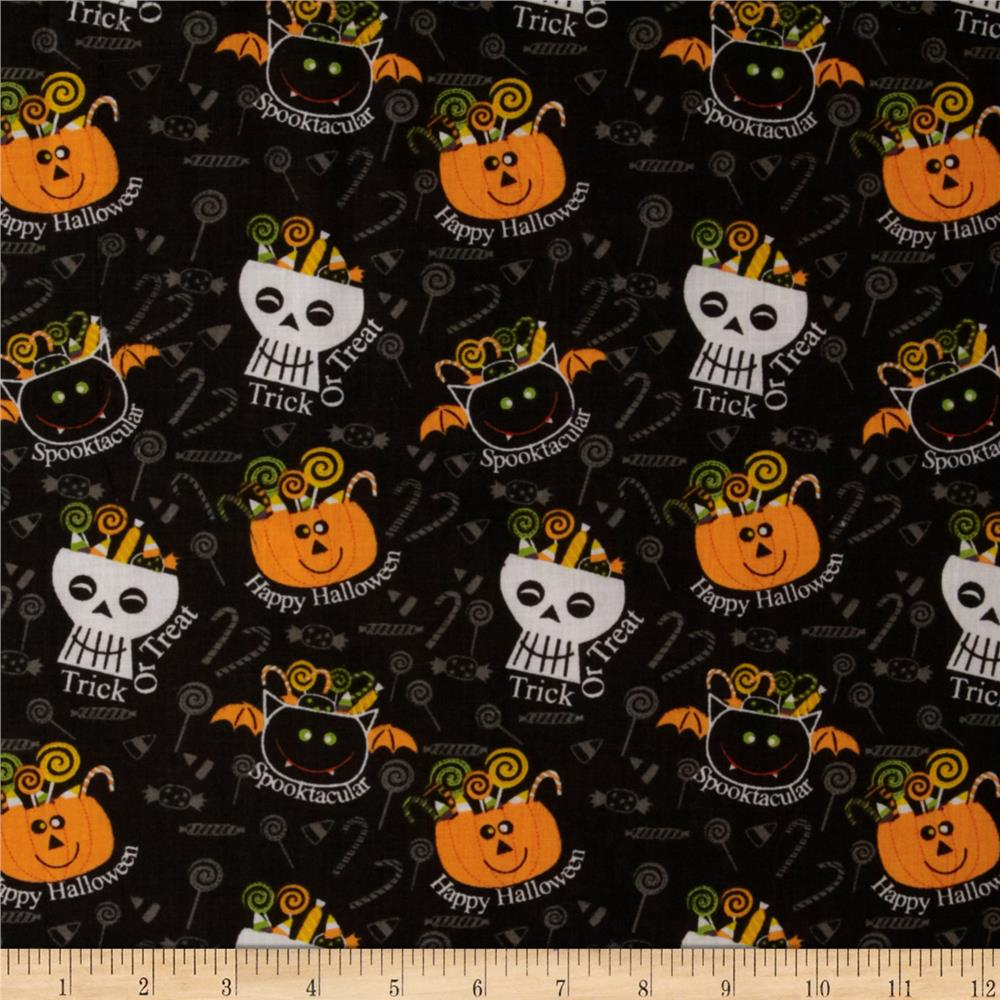 Halloween Candy Black