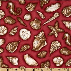 Safe Harbor Sea Shells Red