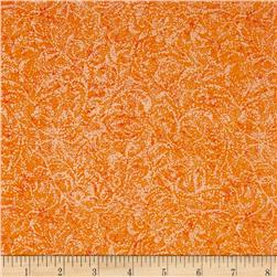 Timeless Treasures Pearlized Texture Orange