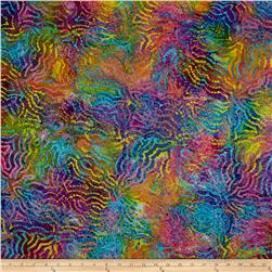 Indian Batik Puzzle Bright Multi