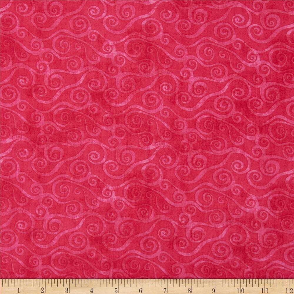 Essentials Swirly Scroll Magenta