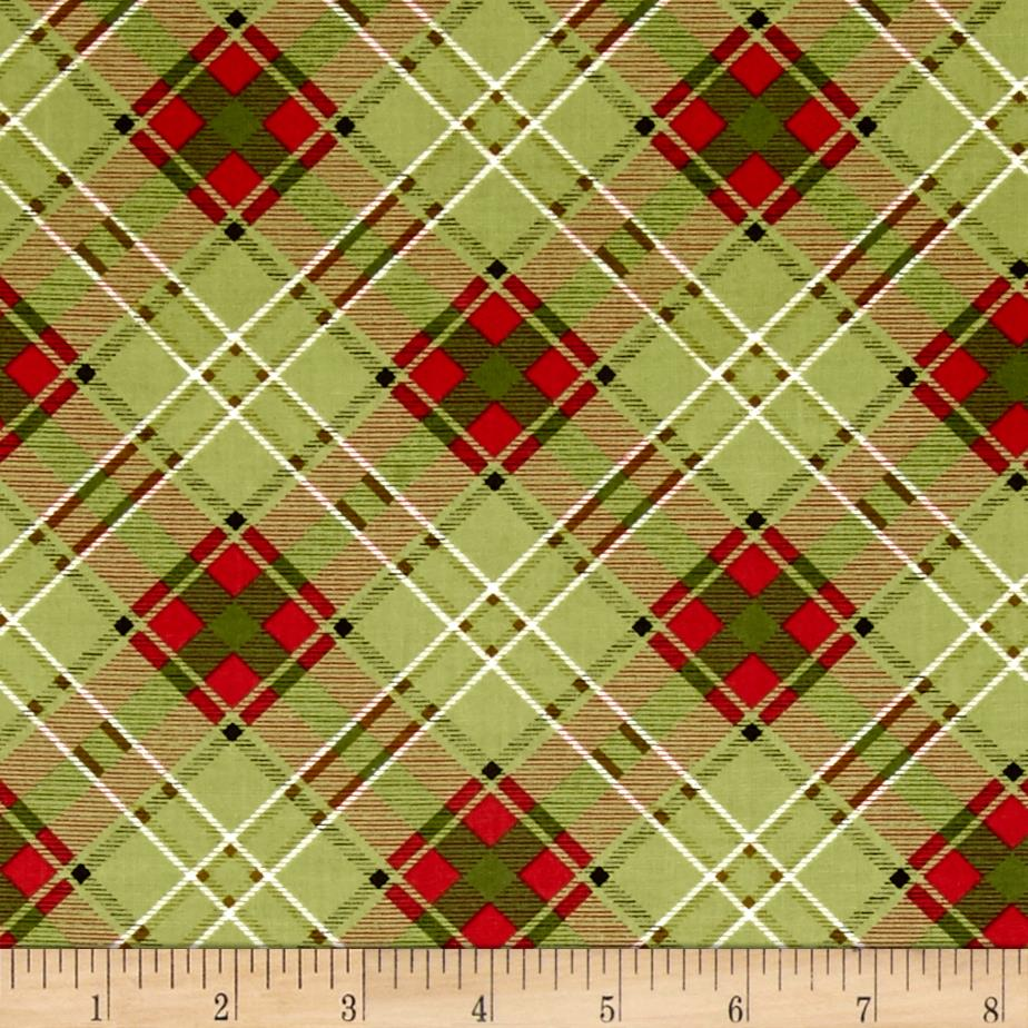 Moose Lodge Plaid Green/Red