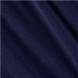 Soft Jersey Knit Solid Midnight Blue