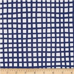 Glimma Squares Blueberry/White