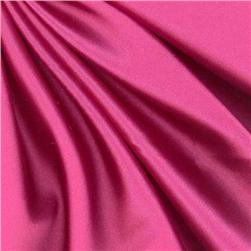 Debutante Stretch Satin Fabric Hot Pink