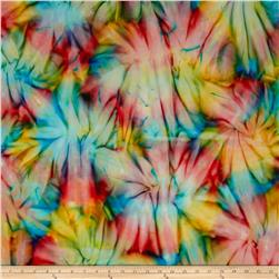Timeless Treasures Tonga Batik Sunburst Tie-Dye Groovy