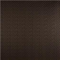 Luxury Faux Leather Tufted Diamonds Coffee Bean