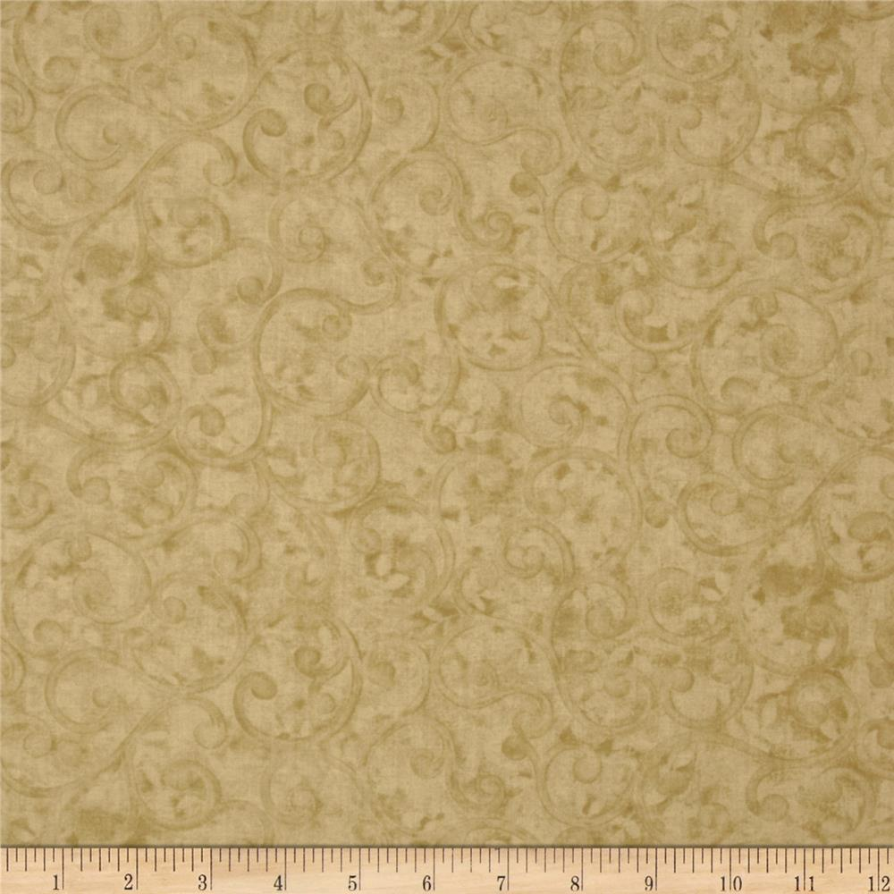 Left Bank Texture Scroll Ivory