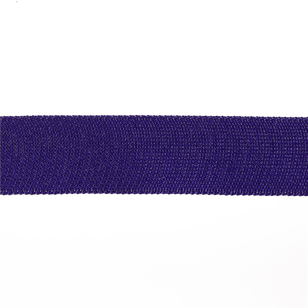 "Team Spirit 1"" Solid Trim Purple"