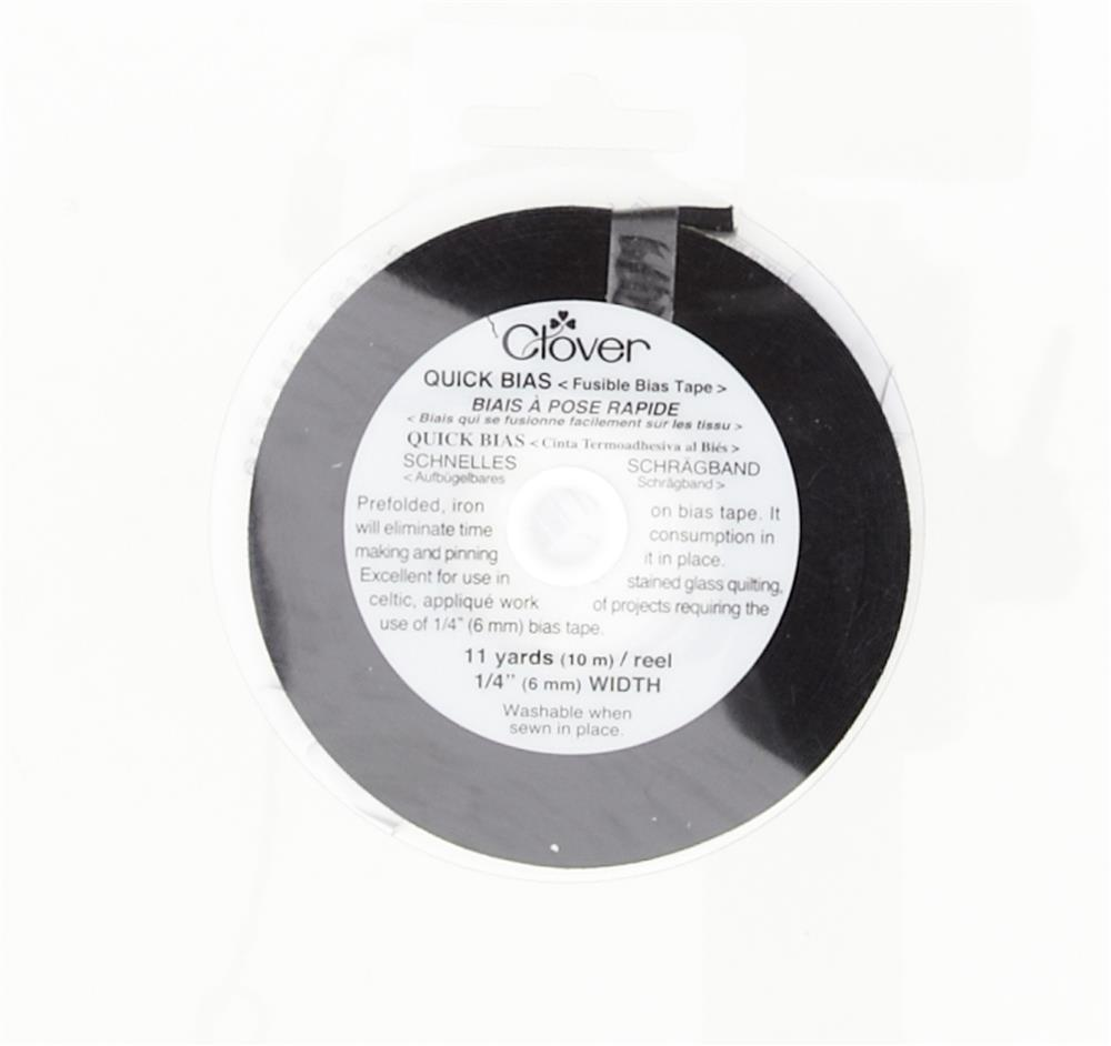 Clover Quick Bias Tape Black