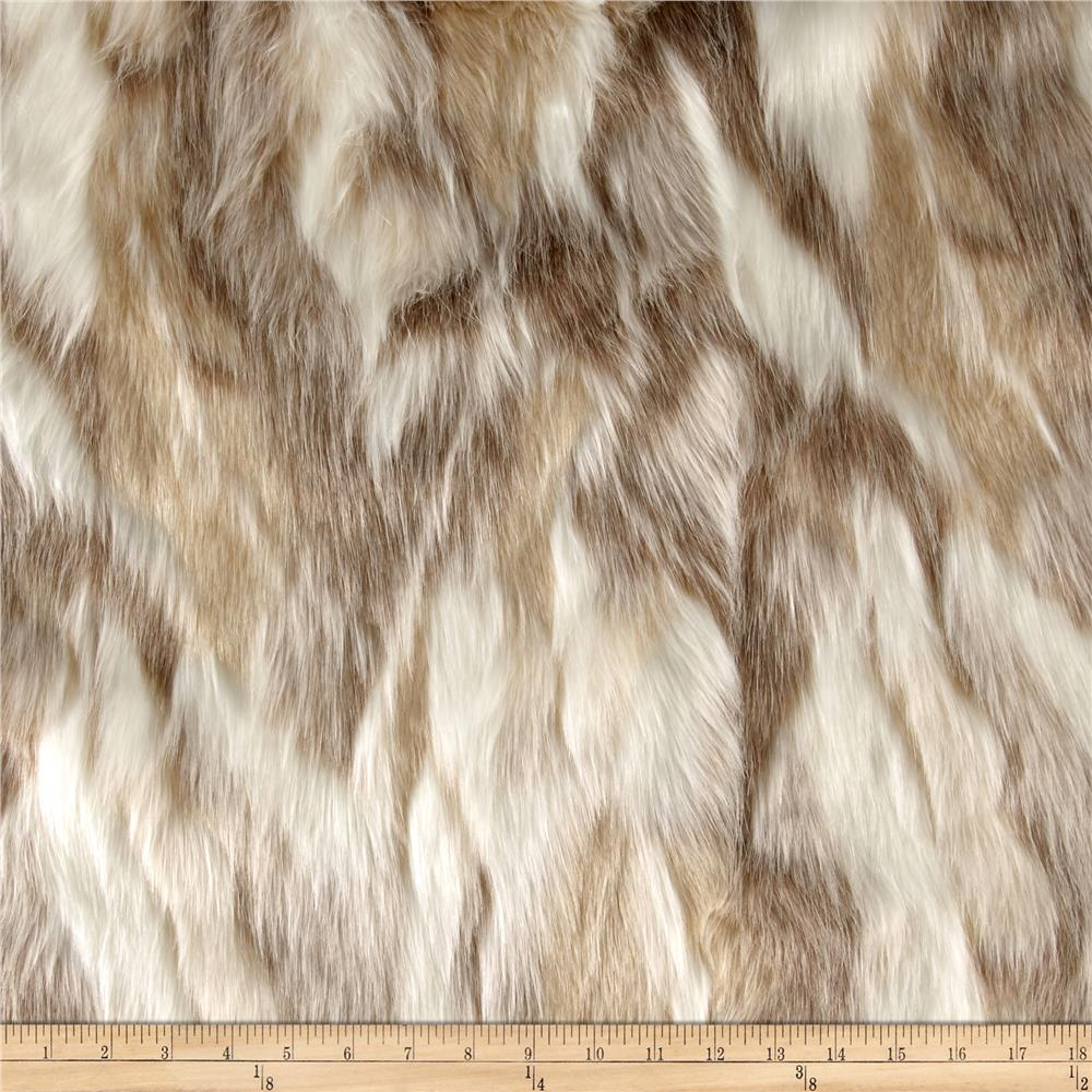 Faux Fur Forest Fox Platinum