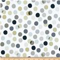 Paintbox Shadows Dots Taupe/White