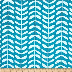 Cloud 9 Organics Yoyogi Park Canvas Vines Teal