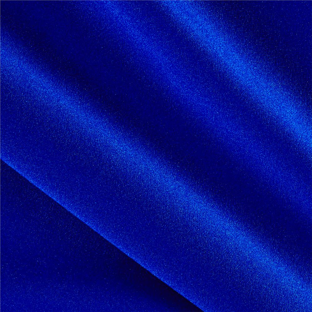 Activewear Spandex Knit Solid Royal
