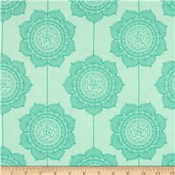 Riley Blake The Cottage Garden Wallpaper Teal