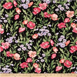 Sundance Field Flowers Black/Multi