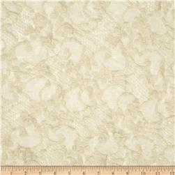 Crushed Lace Floral Parchment