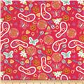 Nursery Rhymes Butterfly Red
