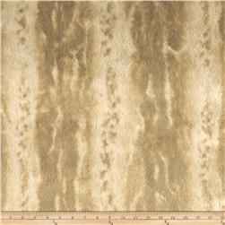 Tissavel Luxury Faux Sante Fe Marble Fur Beige