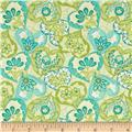 Carina Modern Heart to Heart Lt Blue/Green