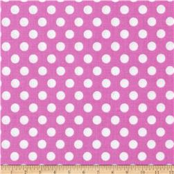 Michael Miller Kiss Dot Peony Fabric