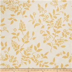 Fabricut 50024w Floreale Wallpaper Gold 04 (Double Roll)