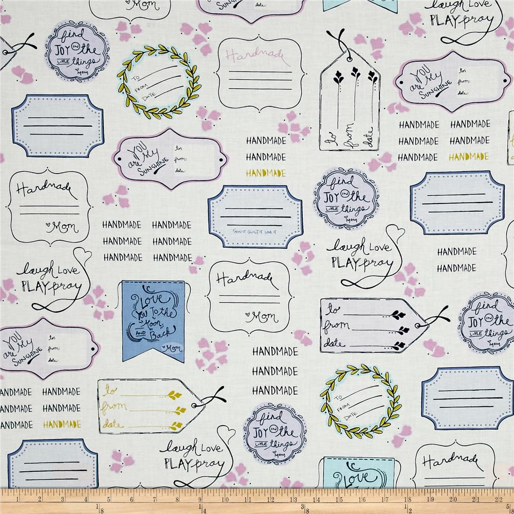 Sew It- Quilt It- Love It! Quilt Labels Multi