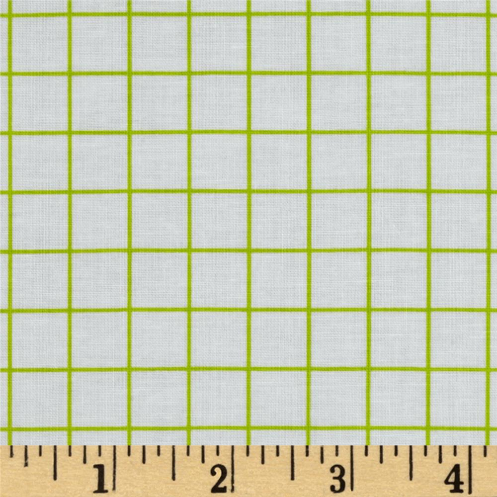 "Citrus 1/2"" Grid Lime"