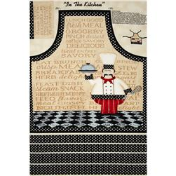 "In The Kitchen 30"" Apron Panel Multi"