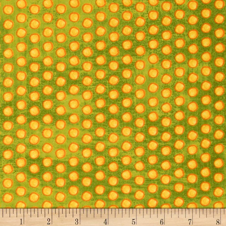 Marmalade Cottage Dots Green/Yellow