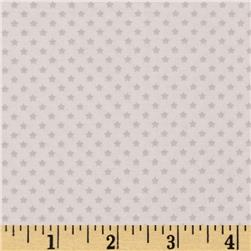 Riley Blake Star Spangled Stripes Stars Grey Fabric