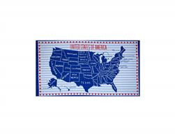 Stars And Stripes U.S.A. 24 In. Panel Multi