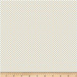Back Porch Basics Dots Light Blue/Ivory