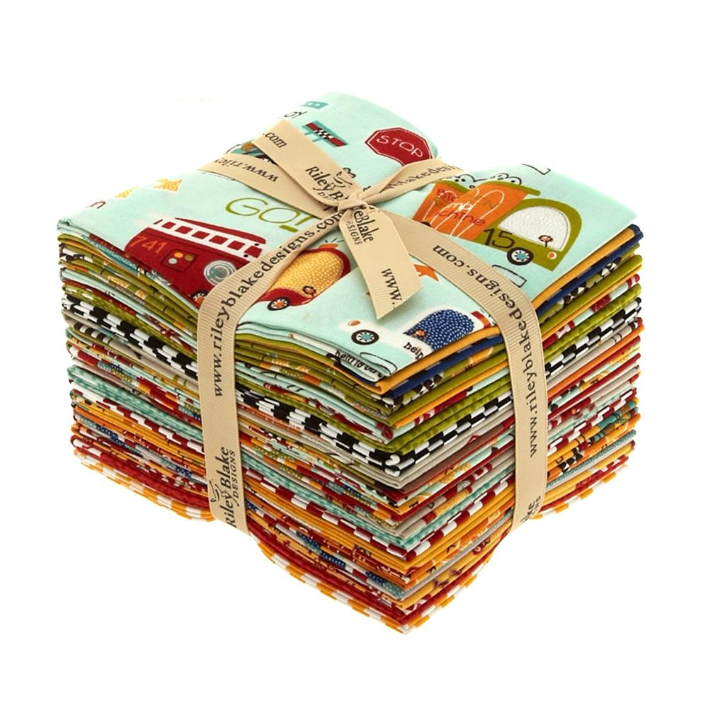 Riley Blake On Our Way Fat Quarters