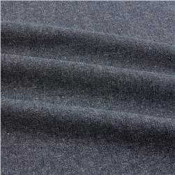 Robert Kaufman Essex Yarn Dyed Linen Blend Metallic Midnight