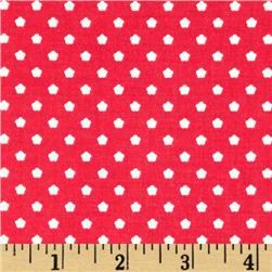 Riley Blake Flutterberry Spot Red