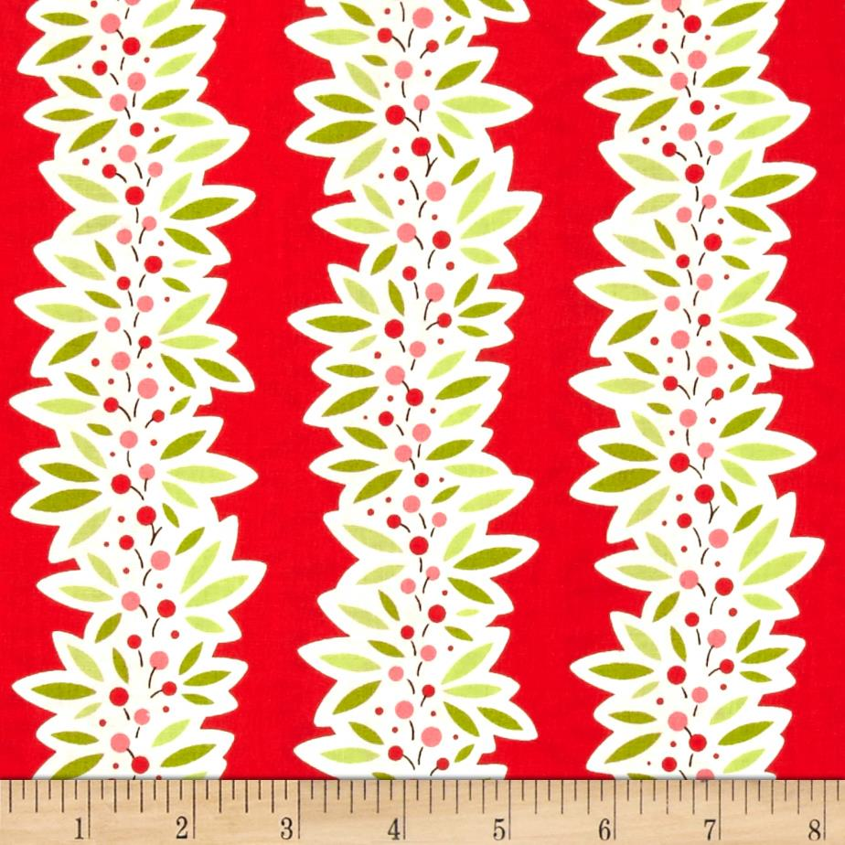 Heather Bailey Ginger Snap Garland Red