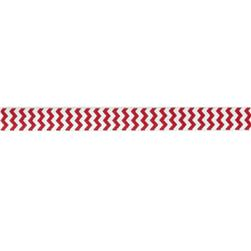 5/8'' Fold Over Elastic Chevron Red