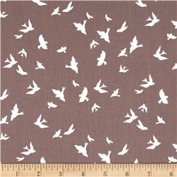 Violet Craft Brambleberry Ridge Flight Taupe Fabric