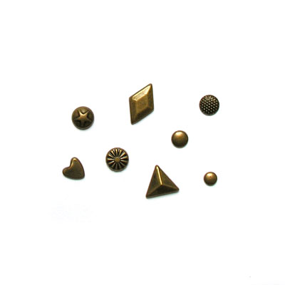 Brass Metal Assortment Compact 166/pcs