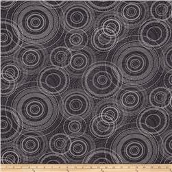 Kanvas Natures Pearl Pearlescent Beaded Circle Gray