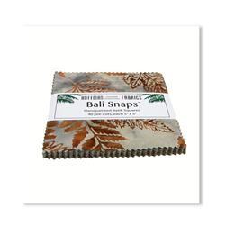 Bali Batik Snaps Brown Sugar 5'' Charm Pack
