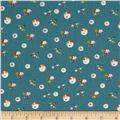 Little Friends Mini Mushrooms Dark Teal