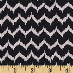 Spooktacular Too Halloween Ikat Black