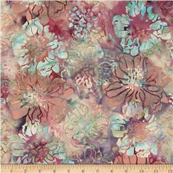 Bali Batiks Handpaints Cliff Rose Macaroon