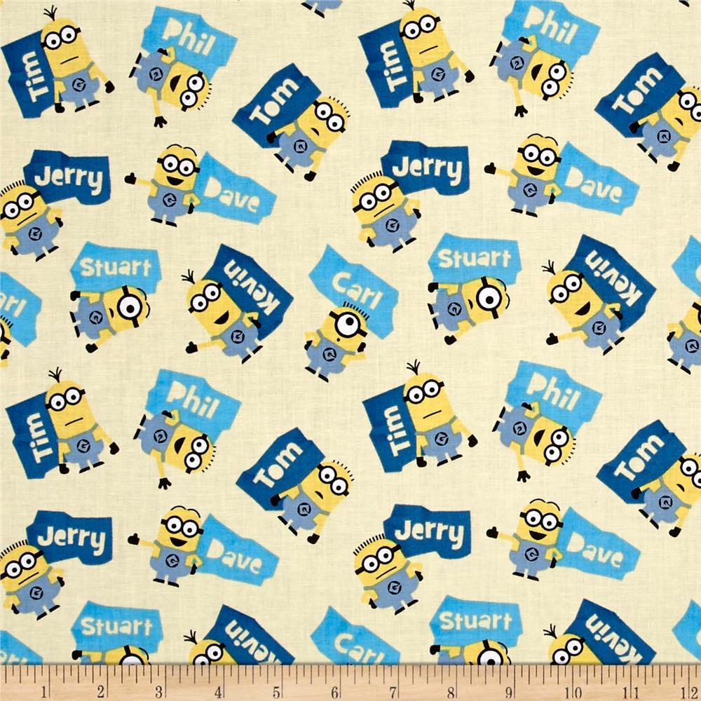 Millions Of Minions Minions & Names Toss Butter
