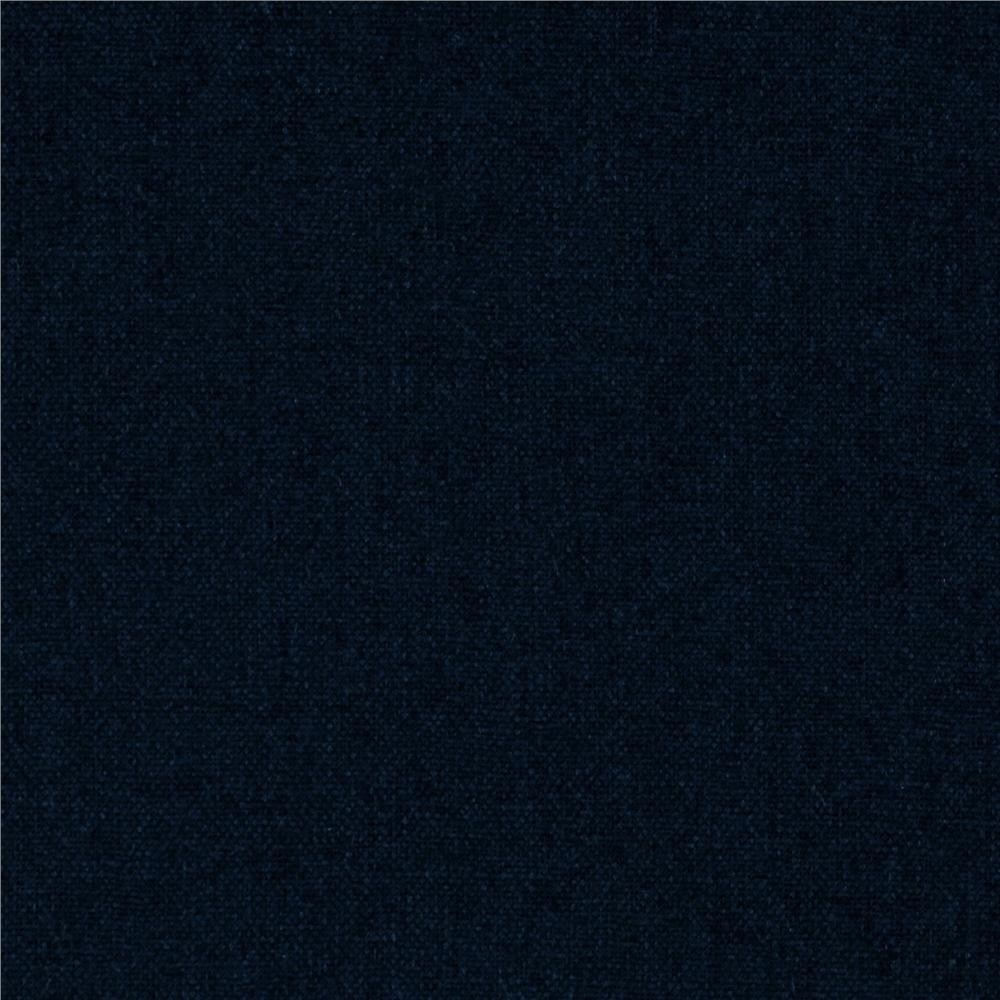 Kaufman Brussels Washer Linen Blend Navy Fabric By The Yard