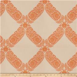 Keller Williams Floral Lattice Jacquard Orange Blossom
